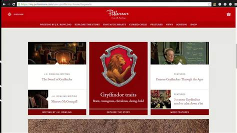 Pottermore Sorting and Wand ceremony   YouTube