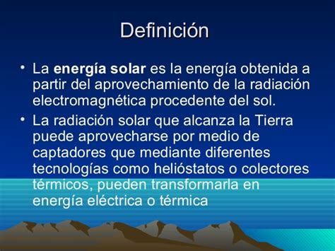 Power Point Energía solar