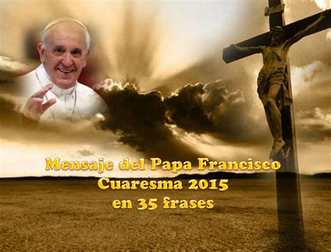 "Power Point ""Mensaje del Papa Francisco para Cuaresma de ..."
