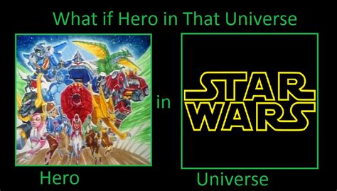 Power Rangers Lost Galaxy in Star Wars universe by ...