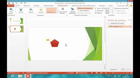 PowerPoint 2013   Iniciacion a las animaciones   YouTube