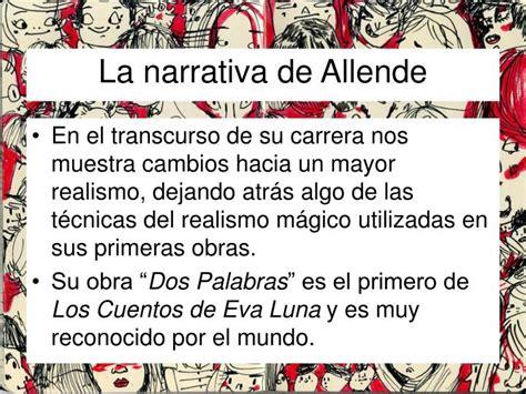 PPT   Dos Palabras Isabel Allende PowerPoint Presentation ...