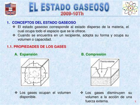 PPT   EL ESTADO GASEOSO PowerPoint Presentation   ID:3995174