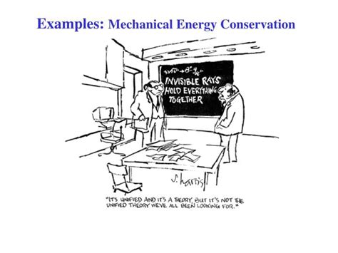 PPT - Examples: Mechanical Energy Conservation PowerPoint ...