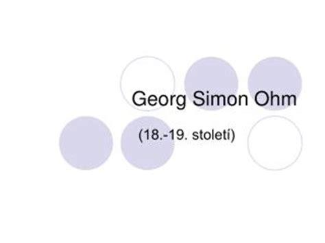 PPT - Georg Simon ohm PowerPoint Presentation - ID:1531685