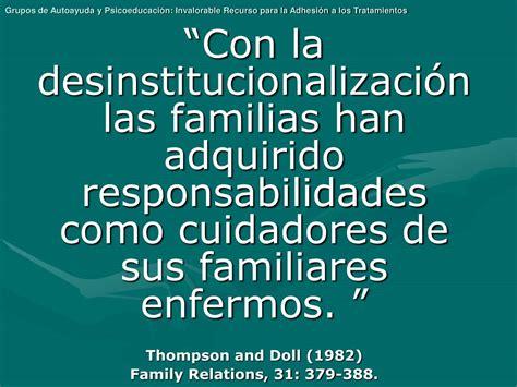 PPT - Grupos de Autoayuda y Psicoeducación: Invalorable ...