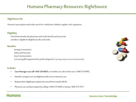 PPT - Humana Cares SeniorBridge Internal/External ...