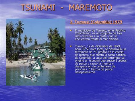 PPT - TSUNAMI - MAREMOTO PowerPoint Presentation - ID:3870884