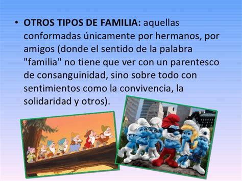 PRÁCTICA 2_ CARACTERÍSTICAS DE LAS FAMILIAS ACTUALES.