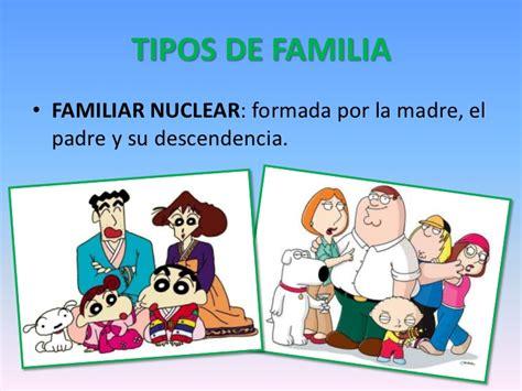 Practica 2  grupal  características de las familias actuales