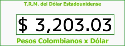 Precio Del Dolar En Colombia Precio Del Dolar Hoy ...