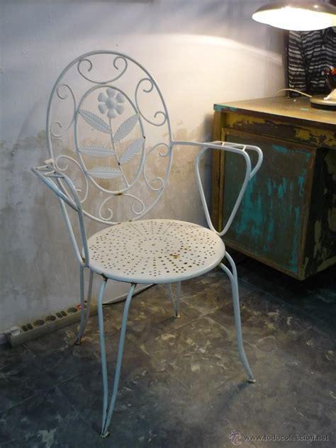 preciosa silla vintage de forja - Comprar Muebles vintage ...