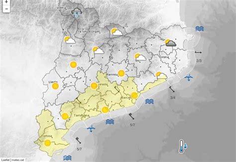 Predicció meteorològica pel cap de setmana de la Diada de ...