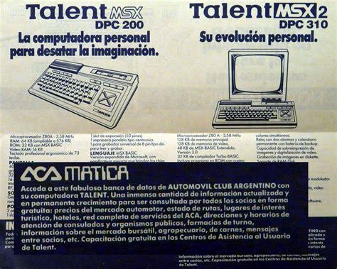Prehistoria informatica   El standard MSX