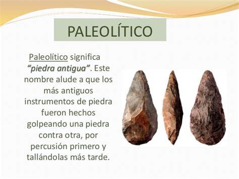 Prehistoria paleolítico y neolítico