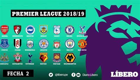 Premier League: tabla de posiciones y resultados de la ...