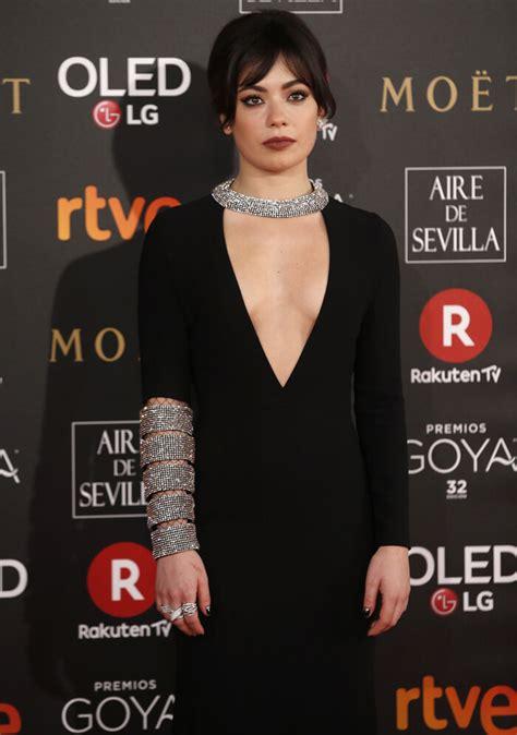 Premios Goya 2018 - La actriz Anna Castillo