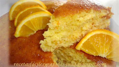 ¡Prepara en solo media hora un bizcocho de naranja ...