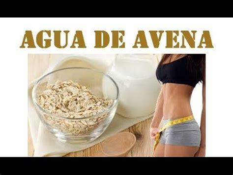 Prepara leche o agua de Avena correctamente y baja de peso ...