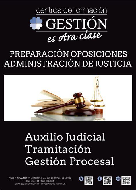 Preparación Oposiciones de Justicia – Academia Gestión