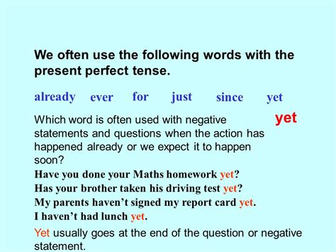 Present perfect tense. - ppt download