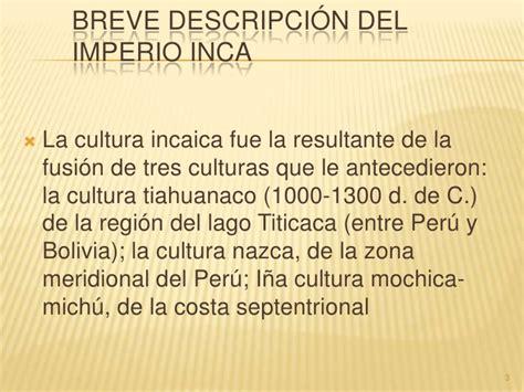 Presentacion CivilizacióN Inca