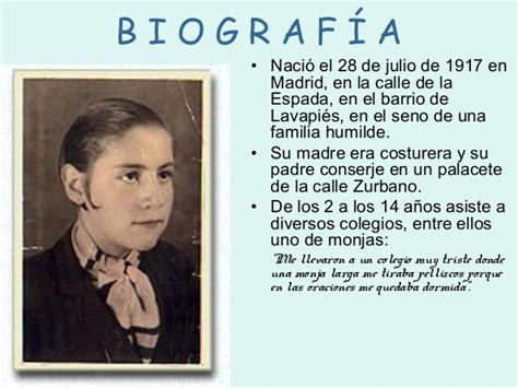 Presentación de Gloria Fuertes