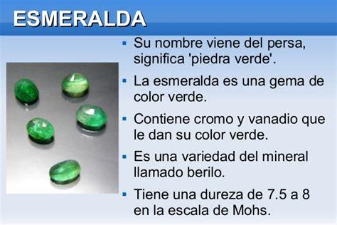 Presentación de piedras preciosas