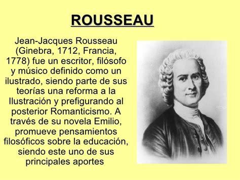 Presentación de Rousseau