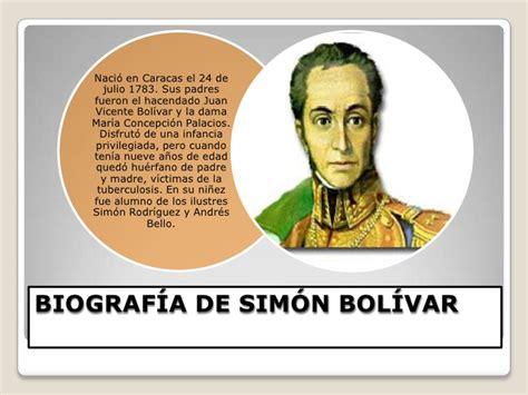 Presentacion de simon bolivar