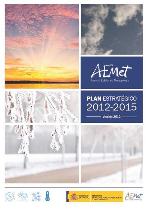 Presentación del Plan Estratégico de AEMET - Agencia ...
