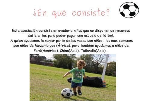 Presentación El futbol es tu ayuda