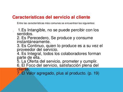Presentacion gestión de servicio al cliente