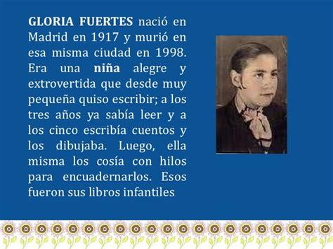 Presentación Gloria Fuertes