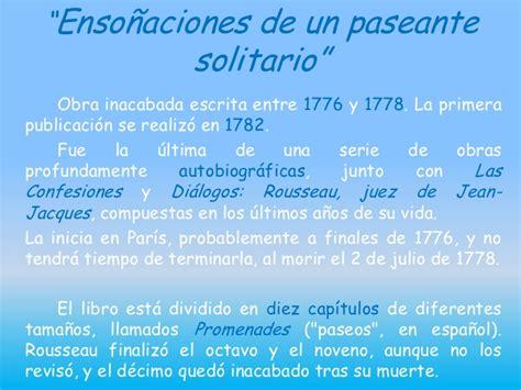 Presentación individual. Vida y obras de Rousseau