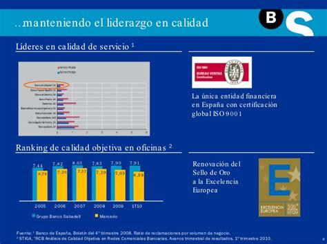 Presentación Institucional Banco Sabadell