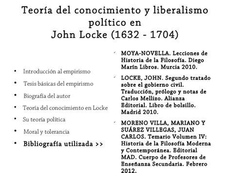 Presentación John Locke  18 de marzo de 2014