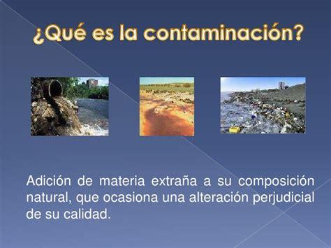 Presentación Sobre la Contaminación del Agua