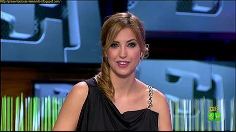 Presentadoras-Fernando: Sandra Sabates El Intermedio 19-2-2013