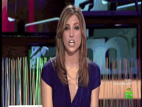 Presentadoras Fernando: Sandra Sabates El Intermedio 8/3/2012
