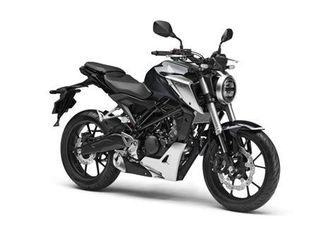 Présentation de la moto 125 Honda CB125R 2018
