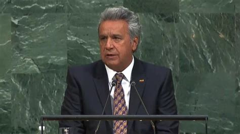 Presidente Lenín Moreno interviene en la Asamblea de la ...
