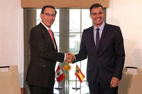 Presidente Vizcarra se reunió con jefe del Gobierno de ...