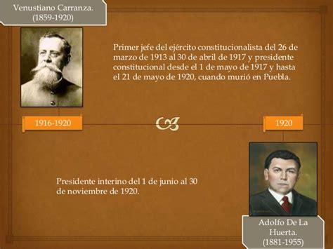 Presidentes de mexico eli