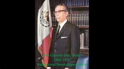 Presidents of Mexico - YouTube