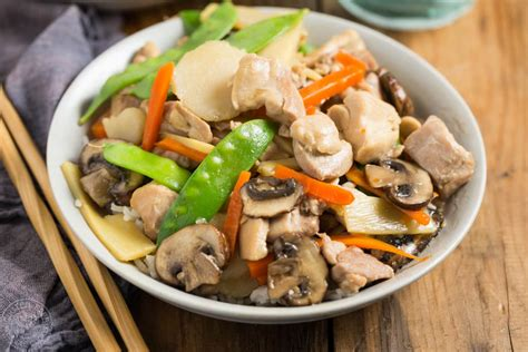 Pressure Cooker Moo Goo Gai Pan - quick, easy, and gluten ...