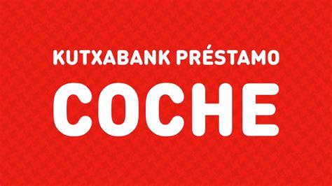 Préstamo Coche Kutxabank