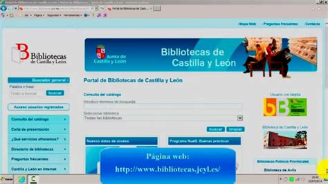 Préstamo de libros electrónicos eBiblio Castilla y León ...