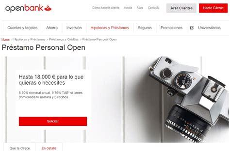 Préstamo Personal Open de Openbank
