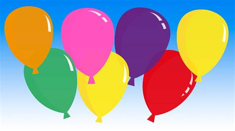 Pretty Balloons   balloon song for learning colors    YouTube
